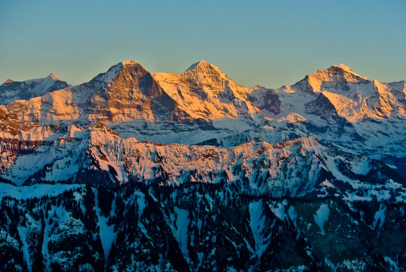 Berge Berner Oberland