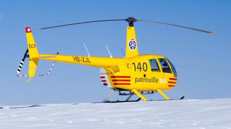 Gletscherflug mit Landung auf 3000 Meter