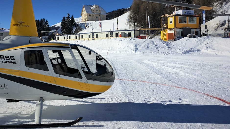 R66 Davos Heliport Tower